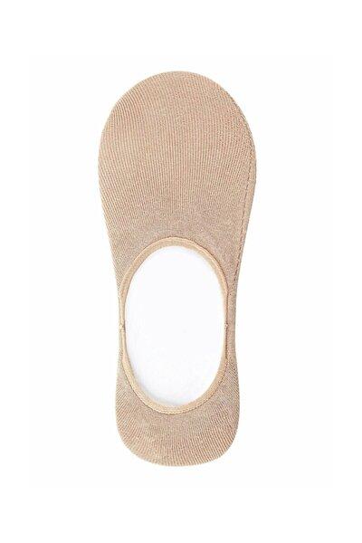 Kadın Ten Rengi Cotton Comfort Çorap