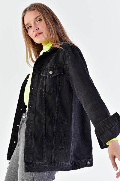 Uzun Boyfriend Ceket C6301 - U3