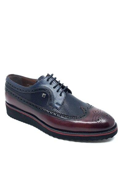 Erkek  Bordo Lacivert Günlük  Ayakkabı 1106 43 816 158
