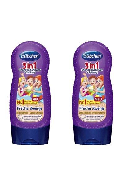 3ü 1 Arada Çocuk Şampuanı Ve Duş Jeli 230 Ml X 2 Adet
