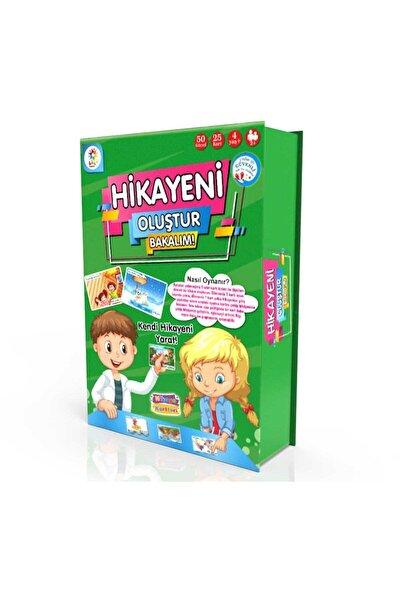 Hikayeni Oluştur Bakalım Eğitici Eğlenceli Oyun Kartları 25 Parça