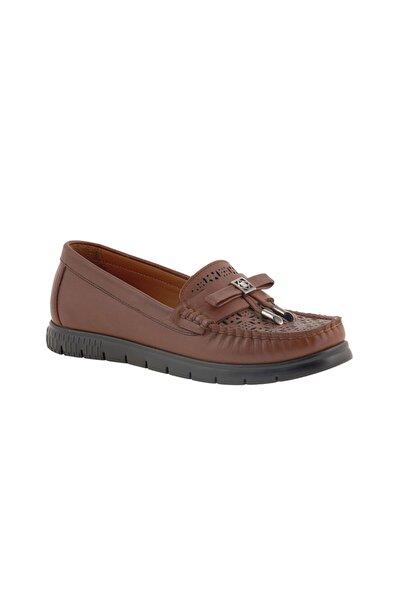 Kadın Karamel Loafer Ayakkabı 0Y2CA29810