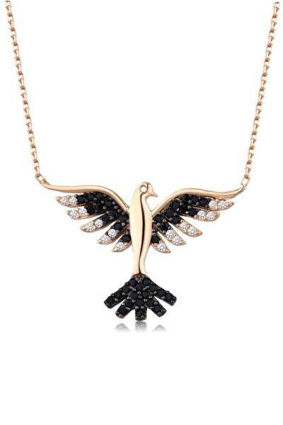 Kadın 925 Kuş Kolye