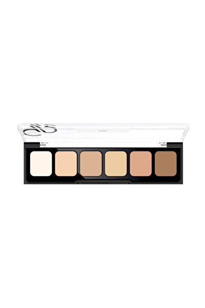 6'lı Kapatıcı Paleti - Concealer Cream Palette 01 Light To Medium 8691190120719