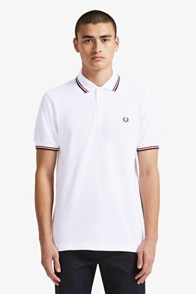 Twin Tipped Erkek Polo T-shirt M3600 Beyaz