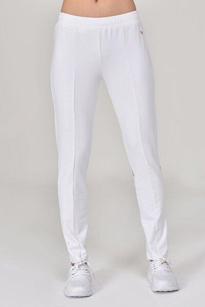 Beyaz Kadın Pantolon  GS-8095