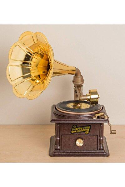 Nostaljik Müzik Kutusu Gramofon GM-1083