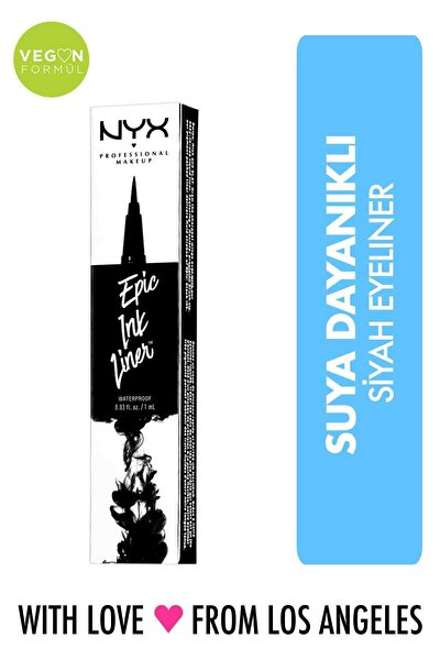 Siyah Eyeliner - Epic Ink Liner Black 800897085605