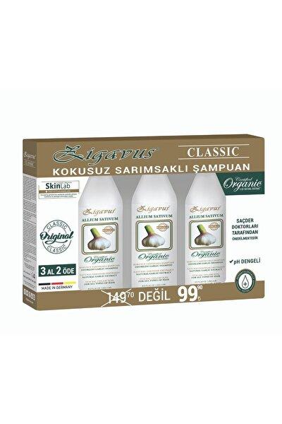 Klasik Sarımsaklı Şampuan 250 ml 3 Al 2 Öde 8699349139193