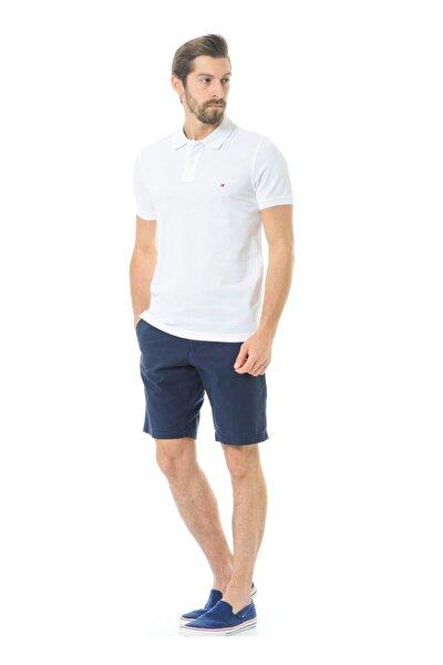 Erkek Polo Yaka T-shirt Beyaz Regular Fit/mw0mw02299