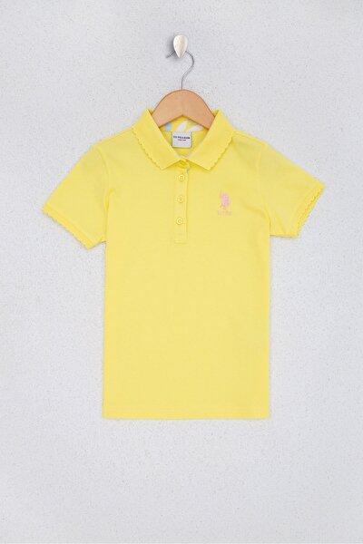 Sari Kız Çocuk T-Shirt