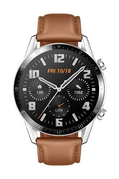 Watch GT2 46mm Classic Akıllı Saat - Kahverengi