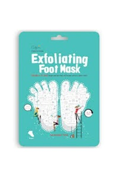 Cettua Clean & Simple Peeling Etkili Ayak Maskesi 2'li