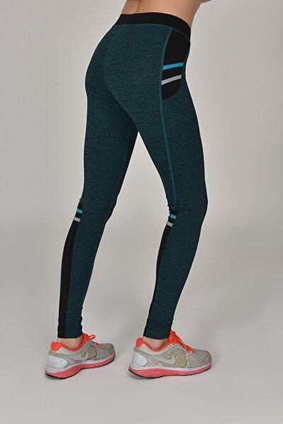 Tropikal Kadın Sporcu Tayt AW-6570