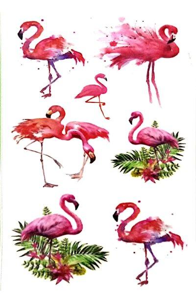 Tattoo Geçici Dövme Flamingo Modelleri