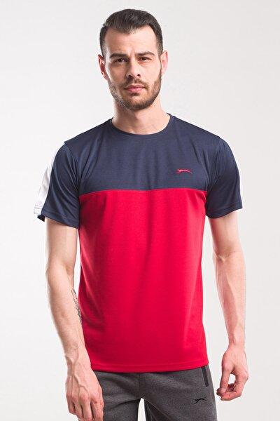 TEXAS Erkek T-Shirt Kırmızı / Lacivert ST10TE143