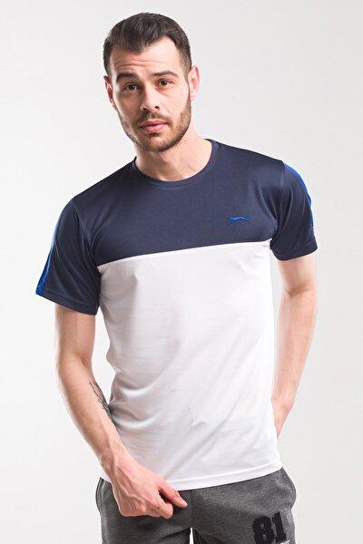 TEXAS Erkek T-Shirt Beyaz / Lacivert ST10TE143