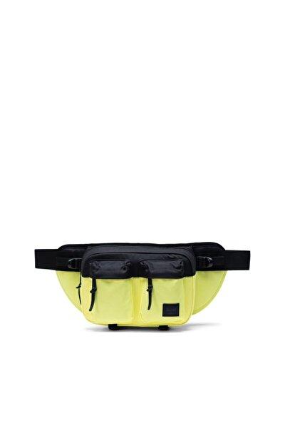 Unisex Siyah Sarı Eighteen Highlight/black Bel Çantası