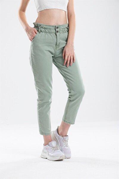 Kadın Mom Kot Pantolon Cd1129