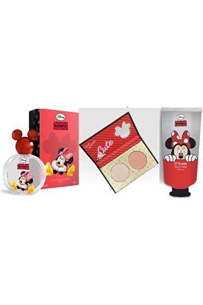 Mınnıe Mouse Parfüm 50 ml  Hıghlıghter El Kremi Set