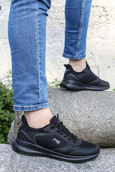 Siyah Erkek Sneaker Ayakkabı 572ma2354