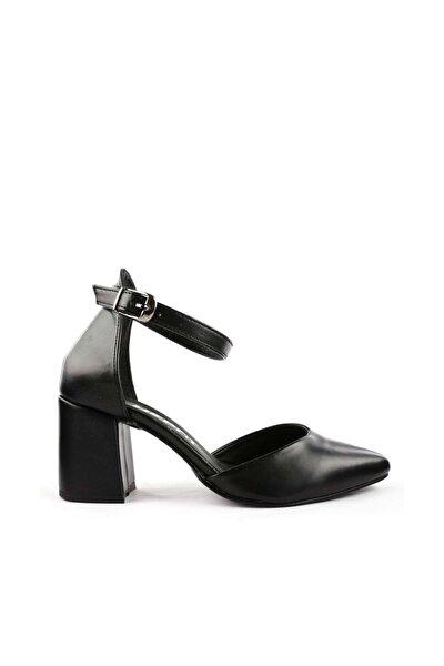 Siyah Kadın Topuklu Ayakkabı 1942-74-1604
