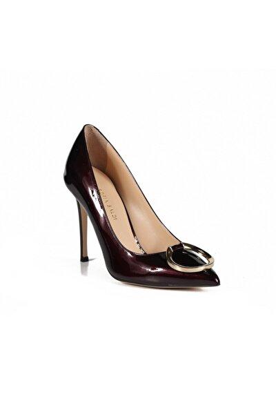 Deena Bordo Rugan Toka Kadın Stiletto & Abiye Ayakkabı
