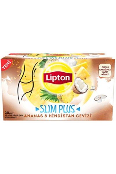 Slım Plus Ananas ve Hindistan Cevizi Çayı 20 adet