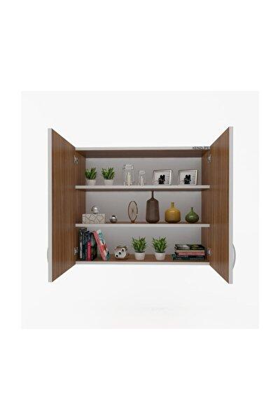 Mutfak Dolabı Idil  090.090.32 Cvz 2 Raflı Kapaklı  Ofis Banyo Kiler Evrak Kitaplık