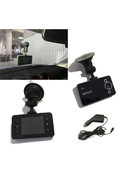 Oto Yol Kayıt Cihazı Araç Seyir Kamerası Ekranlı