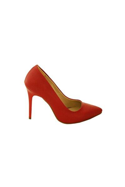 Kadın Stiletto Ayakkabı Kırmızı