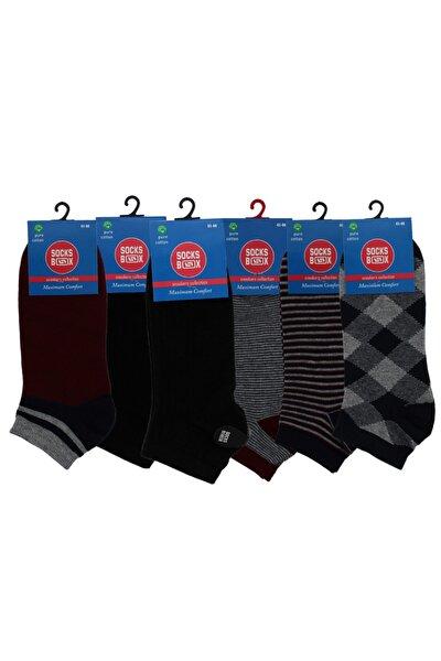 6 Lı Dikişsiz Erkek Kısa Çorap