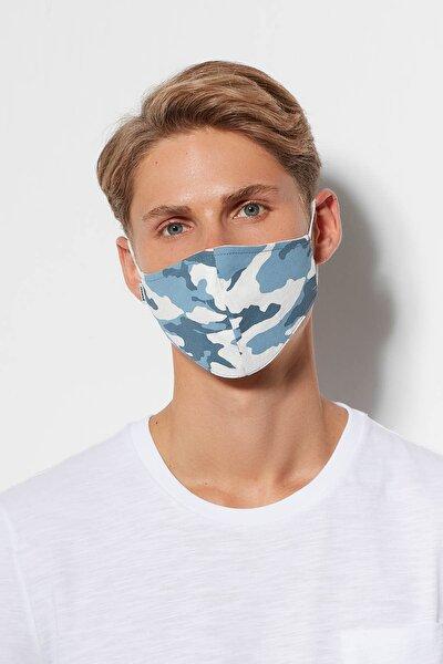 Baskılı Yıkanabilir Yüz Maskesi