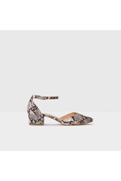 Zulıan-tr - Naturel Kadın Topuklu Ayakkabı