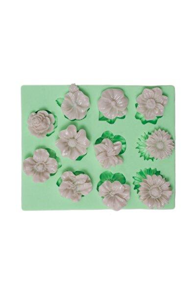 11 Farklı Modelde Küçük Çiçekler Silikon Kalıbı