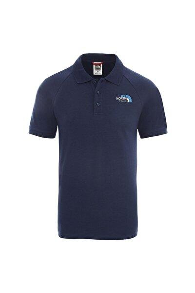 Raglan Jersey Polo Erkek T-Shirt Mavi