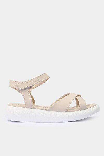 Yaya Bej Sandalet