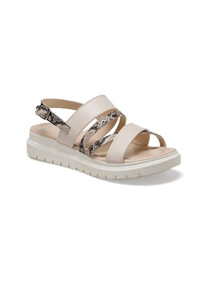 CS20050 Bej Kadın Sandalet 100517935