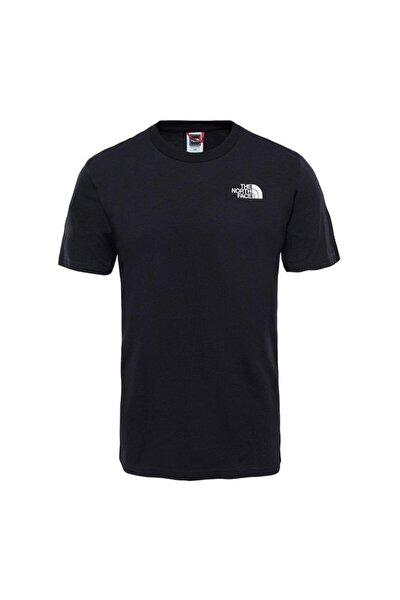 Sımple Dome Erkek T-Shirt Siyah
