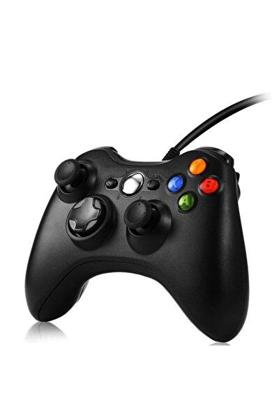 Xbox 360 Kablolu Oyun Kolu (pc Ve Xbox 360 Uyumlu) - Siyah