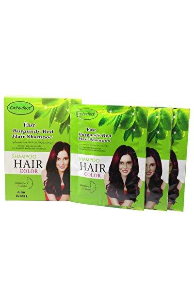 Renklendirici Saç Şampuanı 6.66 Bordo Kızıl 10x30 300 Ml