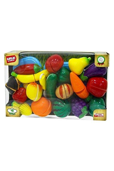 Kutulu Meyve Ve Sebze Kesme Seti 41 Parça Birlik