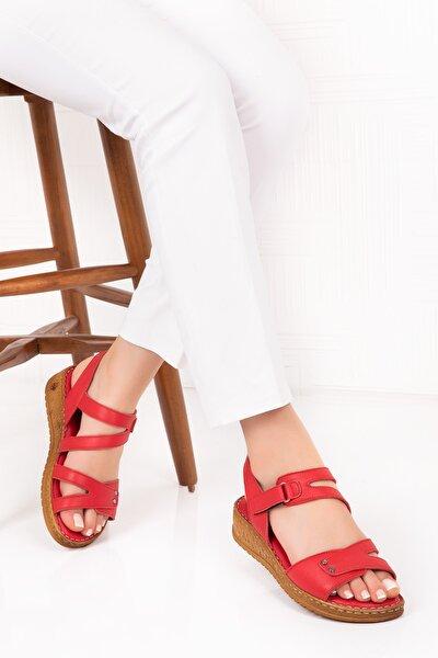 Hakiki Deri Anatomik Taban Sandalet