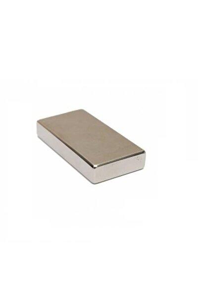 Çok Güçlü Neodyum Mıknatıs 40x20x5 Mm 2 Adet