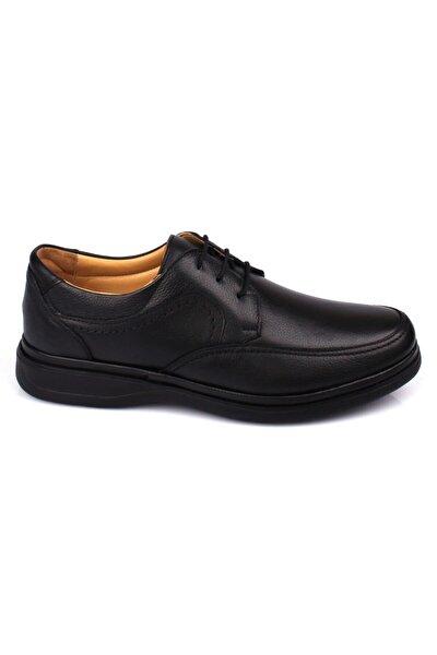 Iç Dış Hakiki Deri Tam Ortopedik Jel Taban Günlük Erkek Ayakkabı