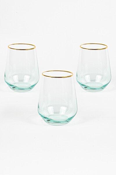 Harmoni 3'lü Su Bardağı Seti Yeşil 425 cc