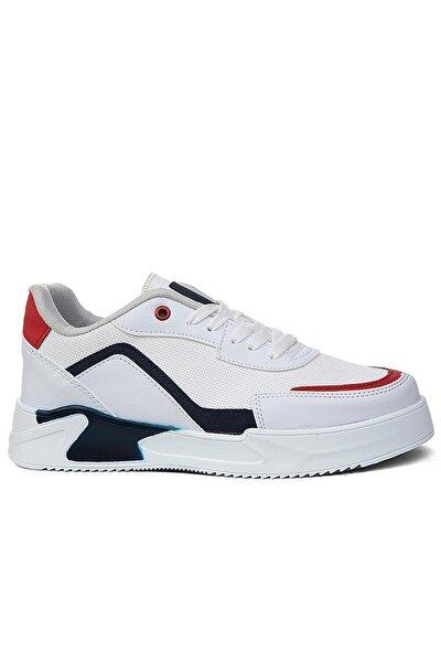 Erkek Beyaz Spor Ayakkabı Flng-1831