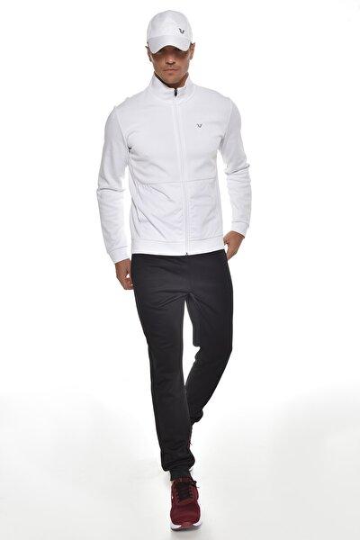 Beyaz Erkek Eşofman Takım GW-9322