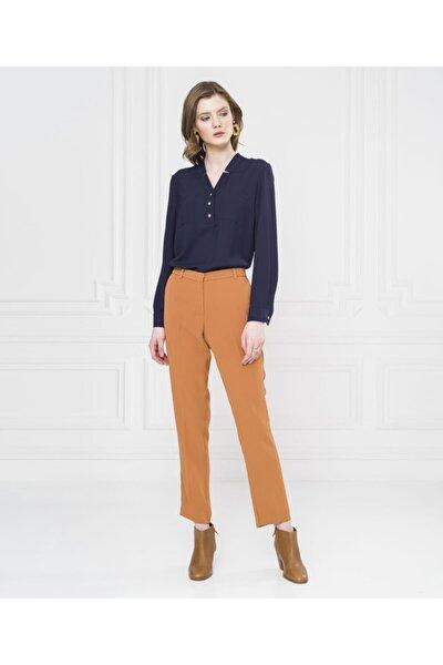 Kadın Hardal Pantolon U34609587