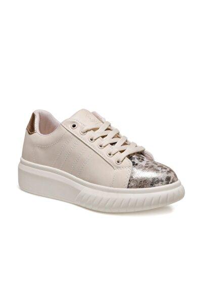 Elenı Kum Rengi Kadın Sneaker Ayakkabı